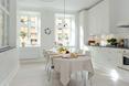 Szwedzkie kuchnie w stylu skandynawskim